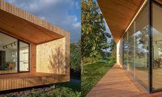 Oko vkrajině jemalý zahradní domek sloužící jako pokoj pro hosty – DesignMag.cz Line Design