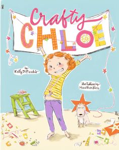CRAFTY CHLOE by Kelly DiPucchio, illustrated by Heather Ross. This picture book features a main character who likes to make things more than play soccer, video games or the violin. It's a sweet story about what happens when Chloe decides to make a gift for her best friend's birthday. Craft ideas included!! Also, be sure to check out HEATHER ROSS'S website - she is an amazing textile designer and seamstress!