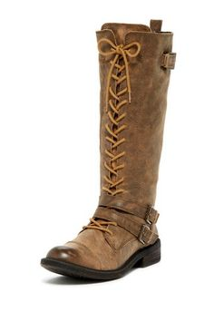 Neel Lace-Up Boot by Lucky Brand on @HauteLook