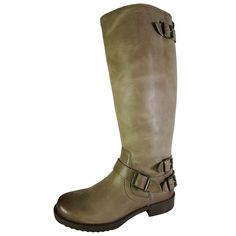Arturo Chiang Women Ella Leather Riding Boot Shoe, Sahara Sand Maple, US 10 * Find out more details by clicking the image : Boots Shoes