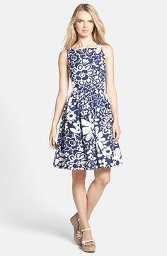 'Kate Spade New York' Cutaway Dress