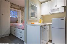 Micro apartment. Providence, Rhode Island.
