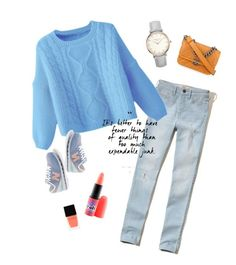 """""""Untitled #5"""" by mnemo7 on Polyvore featuring Hollister Co., Chanel, New Balance, MAC Cosmetics and Witchery"""