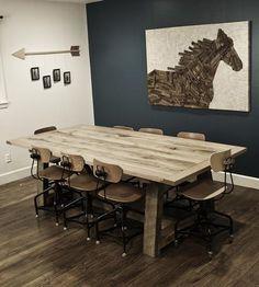 Ellis Solid Oak Farm Table