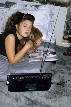 Drew Barrymore, 1987.