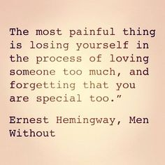 Earnest Hemingway, Men Without