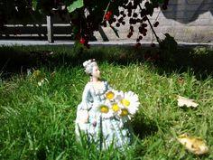 MA in de tuin