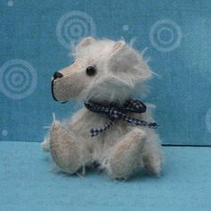 Handcrafted teddy bear original collectable miniature