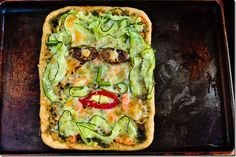 Pancake Ninja: Day Eyes -on your pizza? Vegetable Pizza, Quiche, Ninja, Pancakes, Food Photography, Eyes, Vegetables, Breakfast, Day