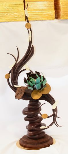 London Harrods chocolate showpiece by Benjamin Dufour