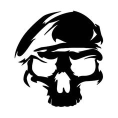 Us Army Ranger Death Skull Vinyl Decal Sticker BallzBeatz . com - Us Army Ranger Death Skull Vinyl Decal Sticker BallzBeatz . Us Army Rangers, Jeep Stickers, Military Drawings, Army Wallpaper, Skull Artwork, 3d Drawings, Scroll Saw Patterns, Stencil Painting, Skull Art