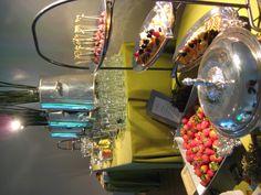 Coffee/dessert/fondue station