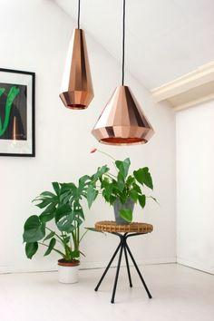 { Copper Lamps }