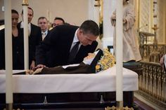 ACTOR JIM CAVIEZAL PAYS RESPECT TO MOTHER ANGELICA