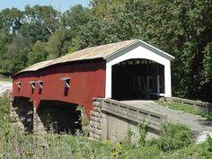 covered bridges   Parke County, Indiana Covered Bridges