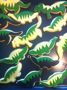 DINO-HOMEMADE COOKIES FOR BIRTHDAY!!!!!
