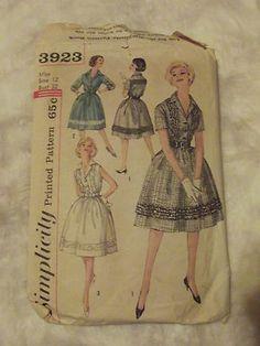 1950 Swing Dress Pattern