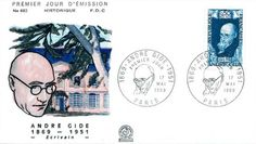 Timbre : 1969 ANDRÉ GIDE 1869-1951 | WikiTimbres