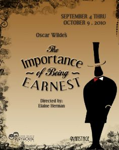 i>The Importance of Being Earnest,</i> Long Beach Playhouse ...