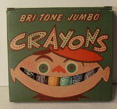 Bri-Tone Vintage Crayons 1950s by Christian Montone, via Flickr
