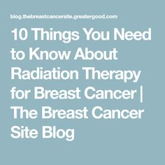 Radiation therapy admission essay