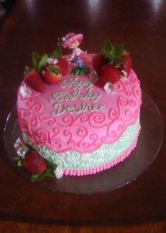Strawberry shortcake cake -by Nikki Doan