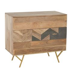 Kerala 3 Drawer Chest, Mango Wood and Grey Grey Chest Of Drawers, 3 Drawer Chest, Barker And Stonehouse, Best Mattress, Best Pillow, Home Decor Inspiration, Kerala, Bedroom Furniture, Mango