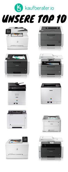 Die besten Farblaserdrucker im Test, Vergleich & Ratgeber. Shopping, Too Busy, First Aid, Printing, Colors