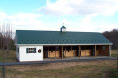 small barns | The Baucom Horse Barn