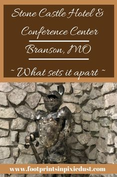 Blogging Branson: Four Reasons Stone Castle Hotel & Conference Center Stands Out - Footprints in Pixie Dust