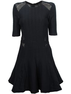 Rag & Bone Black Niki Flare Dress