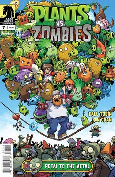 Plants vs Zombies Ongoing (2015) Issue #7