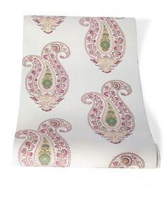 Leela Wallpaper by Borderline Fabrics