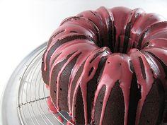 bourbon chocolate bundt cake - http://alpineberry.blogspot.com/2011/11/bourbon-chocolate-bundt-cake.html