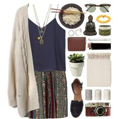 Marrakesh by kinky-rick on Polyvore featuring Monki, Steven Alan, Marc O'Polo, 1928, Iosselliani, Ray-Ban, SheaMoisture and Surya