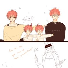 If Saeyoung and MC have kids, Saeran might be baby sitter ///