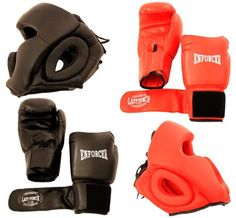 2 Pairs Pro Boxing Gloves & Pro Head Gears Pro Quality - http://www.exercisejoy.com/2-pairs-pro-boxing-gloves-pro-head-gears-pro-quality/boxing/