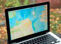 Create a beautiful map for your desktop background - CNET Mobile