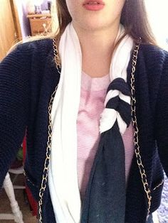 Sierra Rose: DIY Infinity Scarf (made just out of old t shirts!)