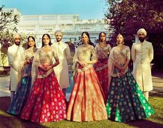 Nice destination wedding collection of Sabyasachi mukherjee design Indian Bridal Lehenga, Indian Bridal Wear, Indian Wear, Indian Style, Indian Dresses, Indian Outfits, Indian Clothes, Desi Clothes, Western Outfits