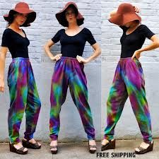 Tie dye is always a must have for festivals it just brightens up everyone's mood!