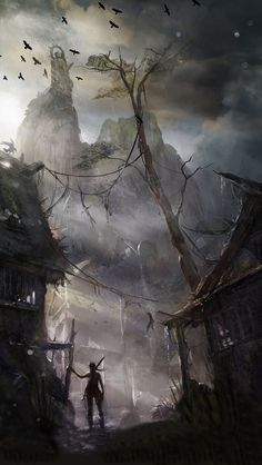 Tomb Raider iPhone 5s wallpaper