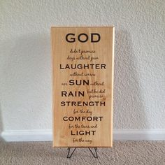 #Inspirational religious #sign God didn't by Frameyourstory