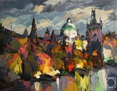 11 - Painting, cm by Sergey Yatnov - Barnett Newman, Alex Colville, Audrey Kawasaki, Andrew Wyeth, Akira, Bo Bartlett, Russia, Original Art, Art Gallery