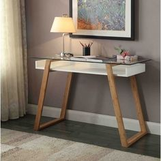 Prescient modern styling offers an abundance of functionality with the Convenience Concepts Oslo Sundance Desk . The genius of this desk is that you. Office Furniture Stores, Furniture Deals, Diy Furniture, Furniture Design, Furniture Outlet, Online Furniture, Bedroom Furniture, Bureau Design, Home Office Decor