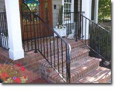Custom Wrought Iron Porch Railings - Raleigh NC