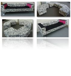 One Time OfferThis amazing designer reception seating set includes:Designer floral fabric three seater sofaDesigner floral fabric three piece jigsaw setRRP: £4,542.00 + vatOur Special Price: £700 + vat