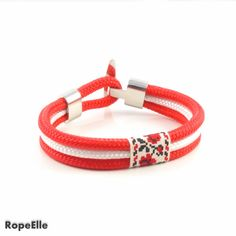 Items similar to Handmade Ethnic Bracelet ( Roses ) on Etsy Rope Bracelets, Paracord Bracelets, Handmade Bracelets, Handmade Jewelry, Marine Rope, 18 Days, Ethnic, Rest, Europe