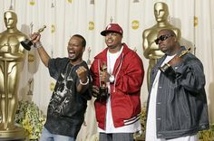 Pin for Later: 10 Celebrities You Didn't Know Had Oscars Three 6 Mafia The group became the first hip-hop artists to take home best original song in 2006.