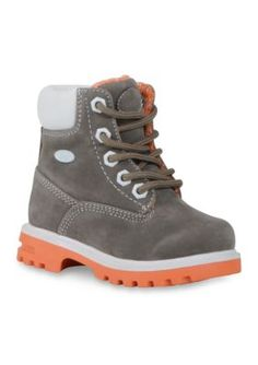 Lugz Gray Empire Hi Water Resistant Boot- Toddler